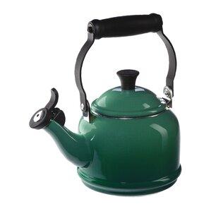 Le Creuset  Enamel On Steel 1.25 qt Demi Tea Kettle