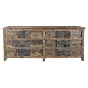 Catherine 6 Drawer Standard Dresser by Loon Peak