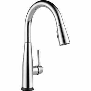 Essa Pull Down Touch Single Handle Kitchen Faucet with LED Light