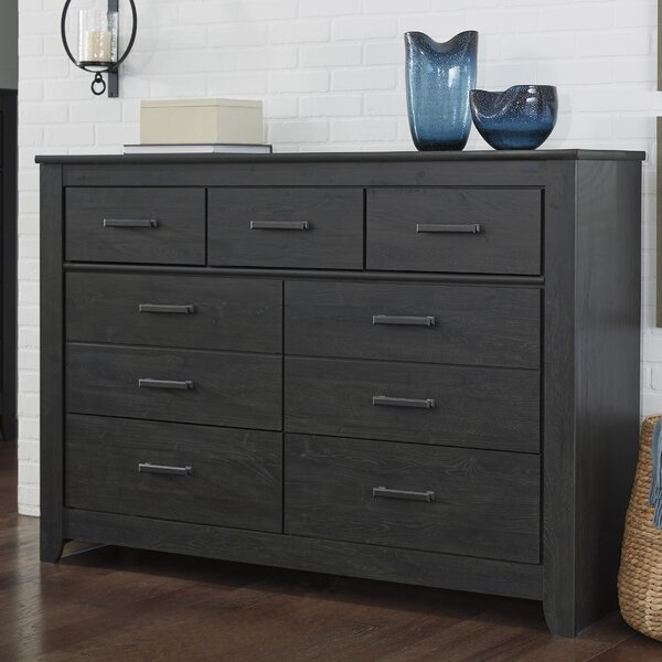 Wade Logan Talon 7 Drawer Dresser Amp Reviews Wayfair