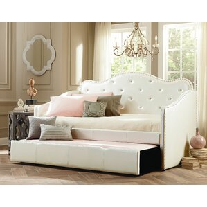 Stacia Daybed with Trundle by Harriet Bee Image