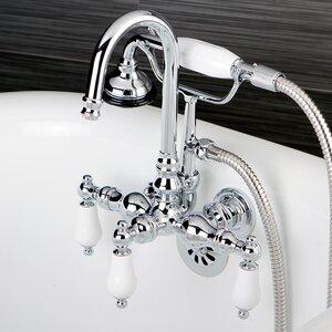 Aqua Vintage Wall Mount Tub Faucet