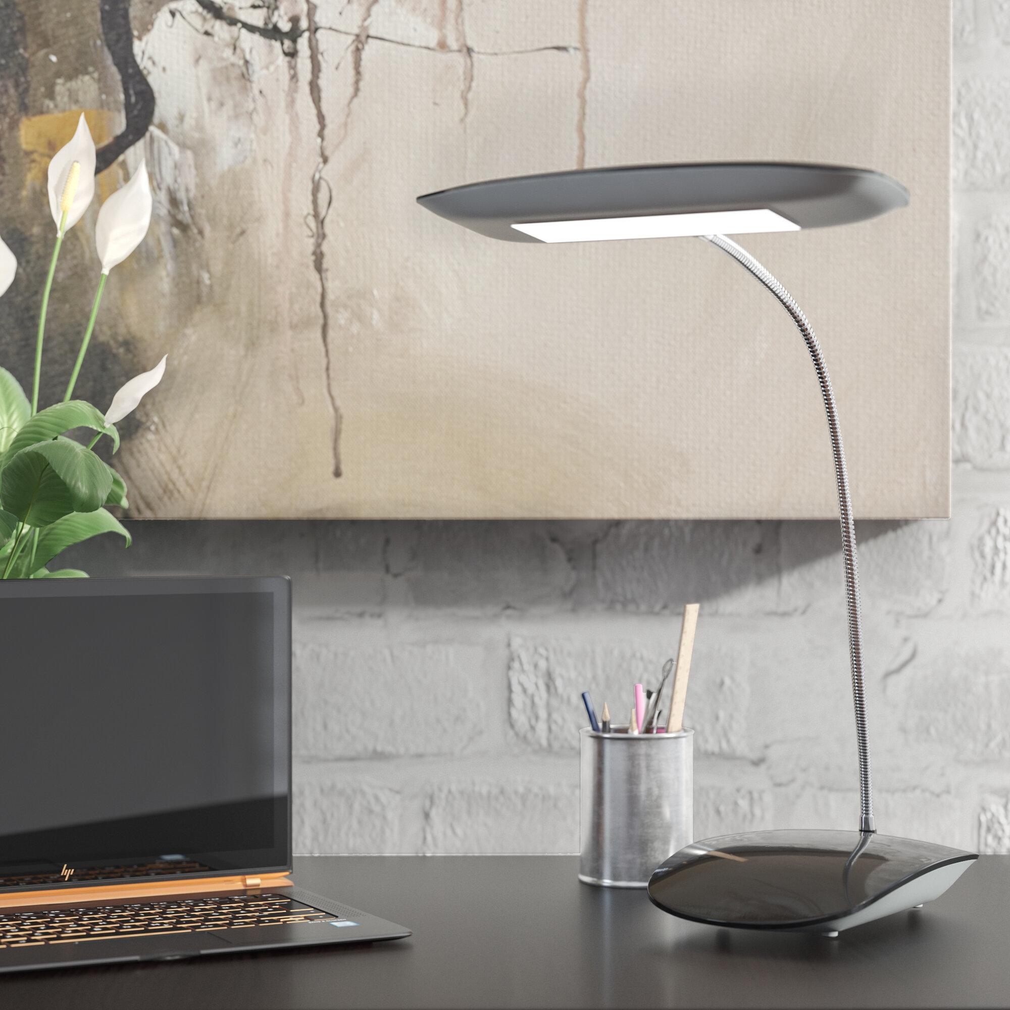 Zipcode Design Jacob Touch Activated Led 12 5 Desk Lamp Reviews Wayfair