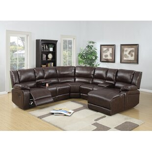 reclining sectionals - Leather Sectional Couch With Recliner
