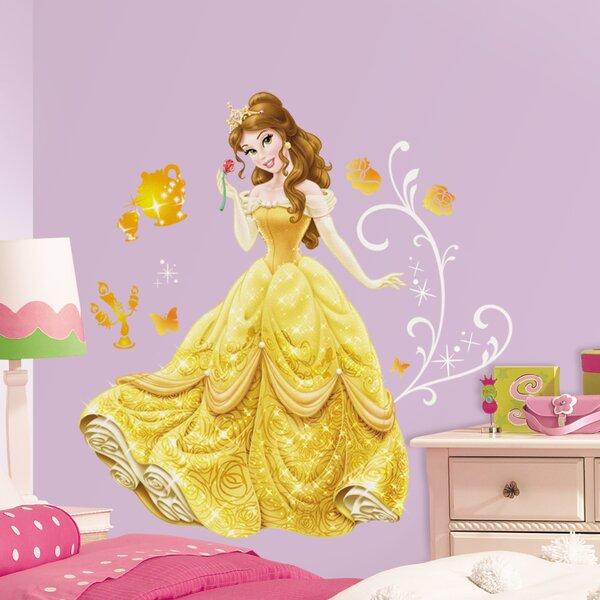 Room Mates Disney Princess Belle Giant Wall Decal U0026 Reviews | Wayfair