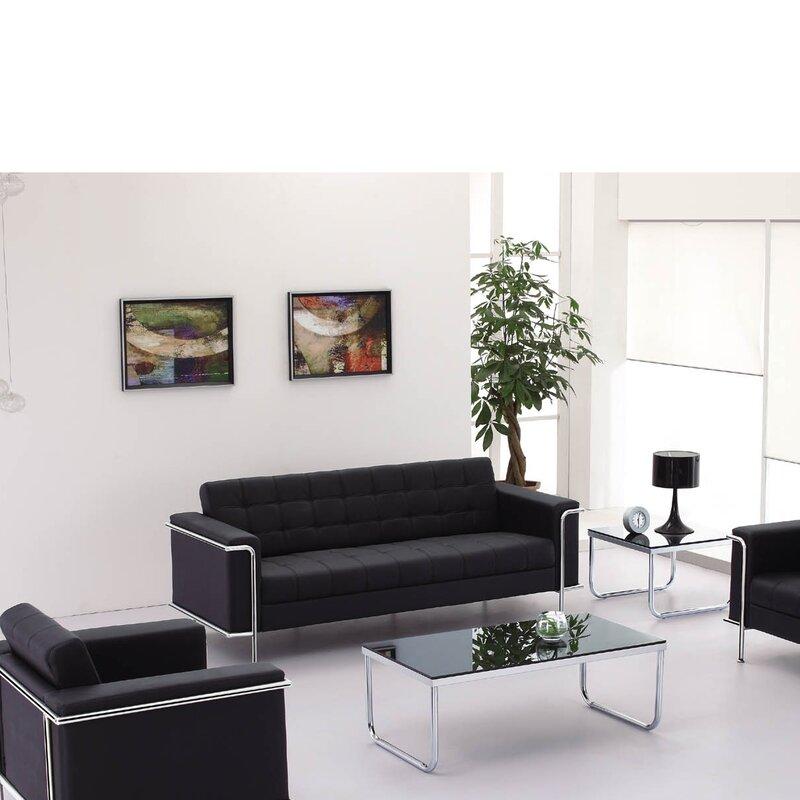 Wade Logan Myron Contemporary Sofa & Reviews | Wayfair