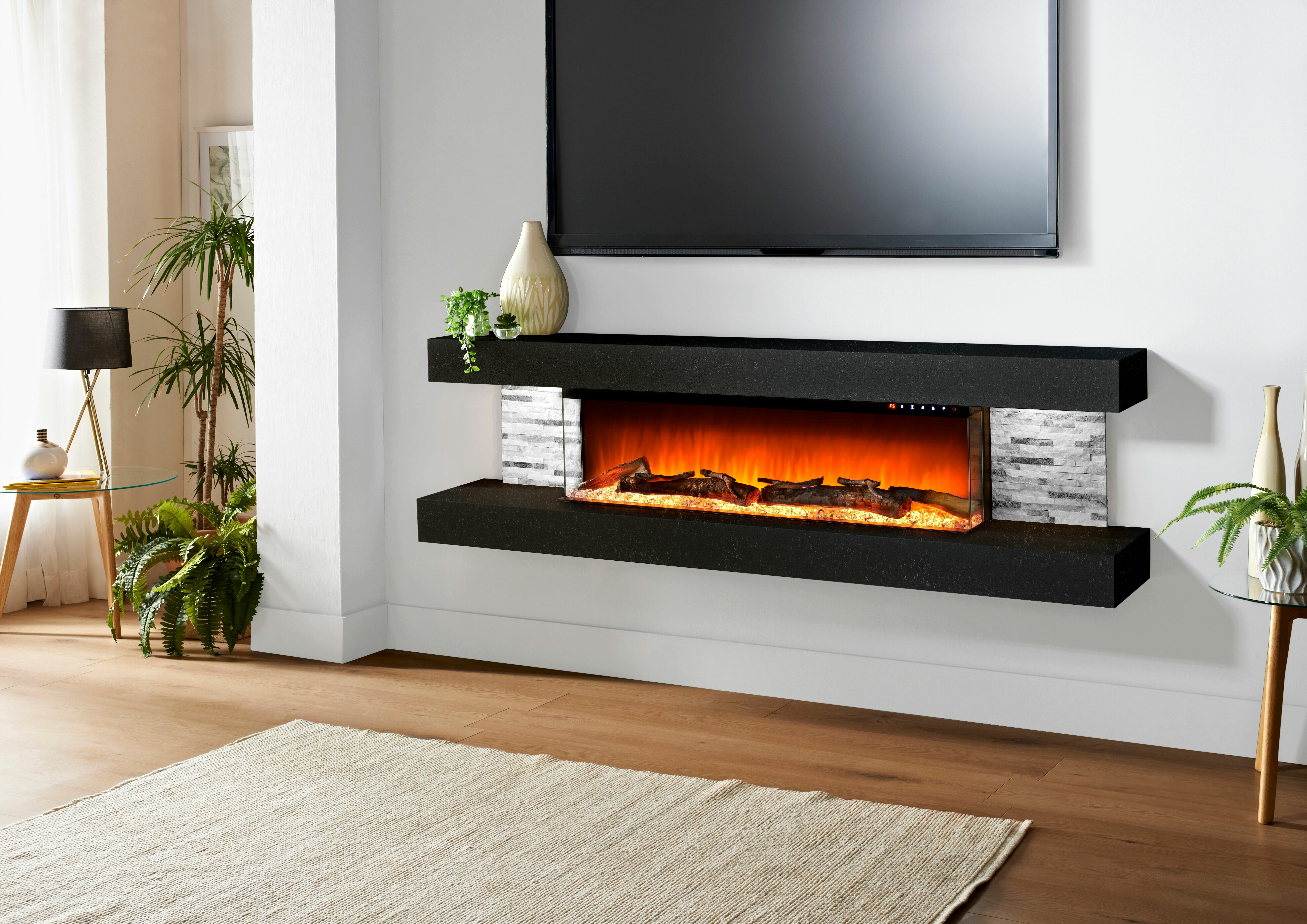 Stupendous Vegas Wall Mounted Electric Fireplace Download Free Architecture Designs Rallybritishbridgeorg
