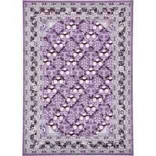 Lisbon Purple Area Rug