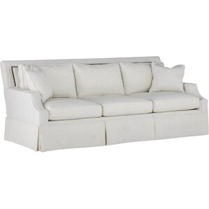 Paige Kick Pleat Sofa by Gabby