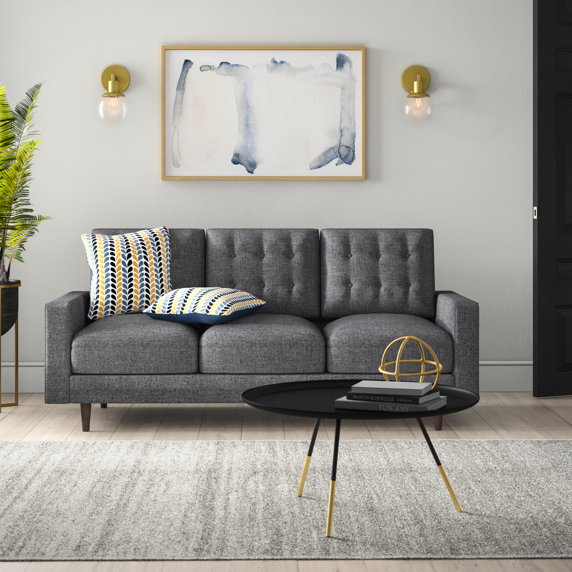 Mercury Row Maliana Sofa & Reviews | Wayfair on