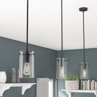 Interior pendant lighting Lobby Plattsmouth 1light Cylinder Pendant Wayfair Pendant Lighting Youll Love Wayfair