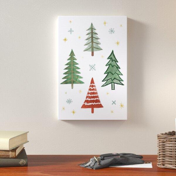 Evergreen Tree Art | Wayfair