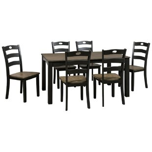 Serena 7 Piece Dining Set Cool