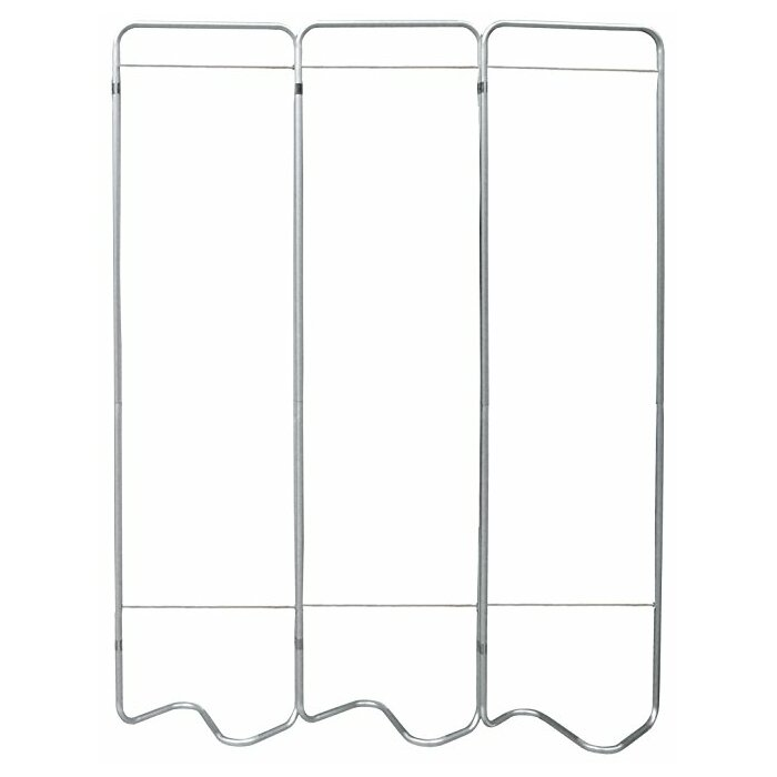 Omnimed Beamatic Screen Frame 3 Panel Room Divider Wayfairca