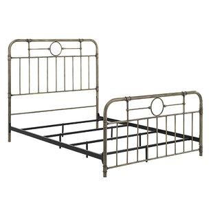 Wilhelmina Metal Pipe Queen Bed