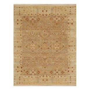 Great Price Houx Oatmeal / Soft Gold Oriental Rug By Loon Peak