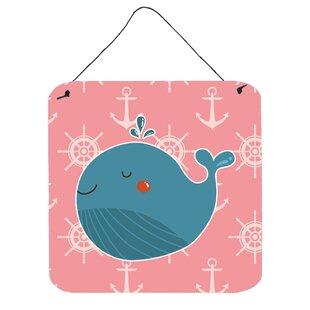 Whale On Nautical Wall Décor