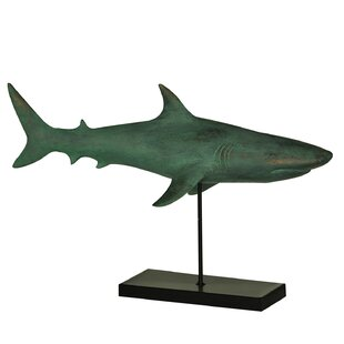 Sea Side Shark Figurine