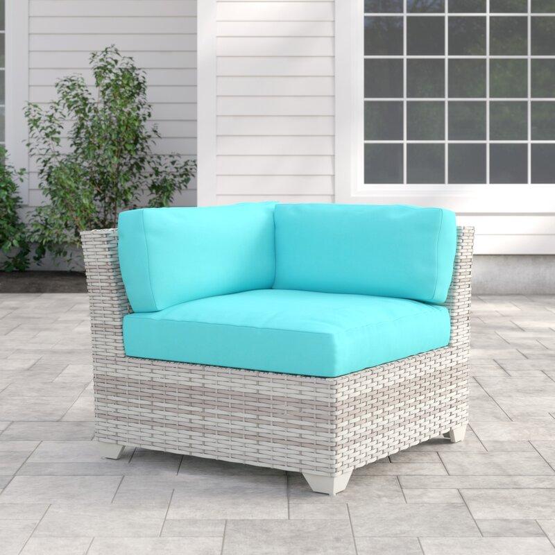 Falmouth Corner Patio Chair with Cushions   Joss & Main