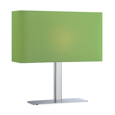 Orren Ellis Tinney 15 Table Lamp Shade Color: Green