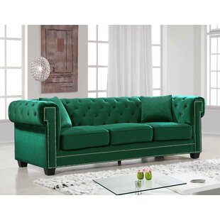 Green Tufted Sofas You\'ll Love in 2019 | Wayfair