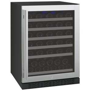 56 Bottle FlexCount Series Single Zone Freestanding Wine Cooler by Allavino