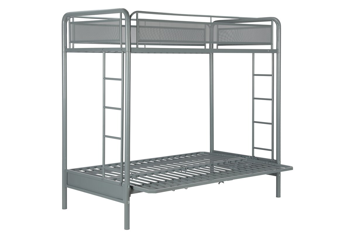 Futon Twin Bunk Bed Twin Futon Bunk Bed Assembly