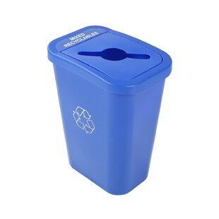 Billi Box Mixed Single 10 Gallon Recycling Bin