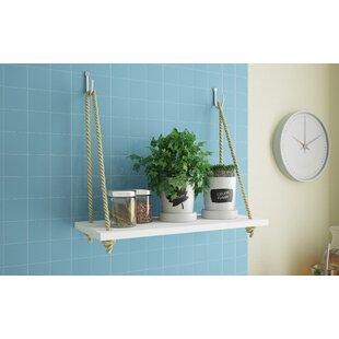 Tablettes murales de salle de bain: Matériau - Bois   Wayfair.ca
