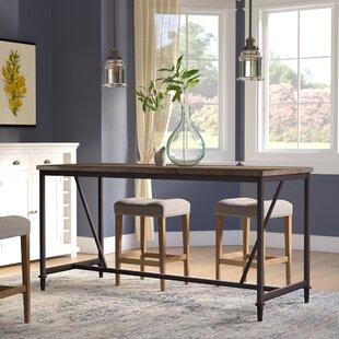 Narrow Counter Height Table Wayfair - Long narrow counter height dining table