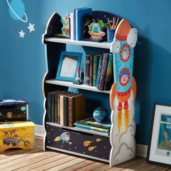ca space outer keyword wayfair turquoise bookshelf