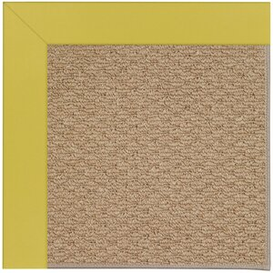 Zoe Machine Tufted Yellow/Brown Indoor/Outdoor Area Rug