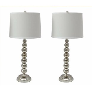 Stacked ball table lamp wayfair stacked ball 28 table lamp set of 2 aloadofball Gallery