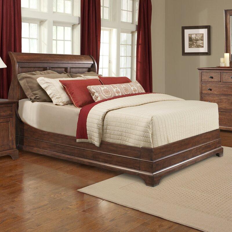 Cresent Furniture Retreat Cherry Platform Configurable Bedroom Set ...