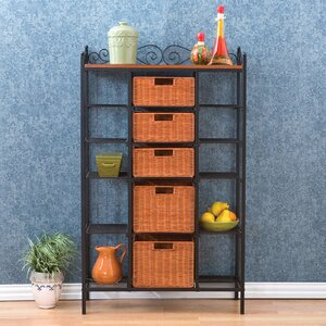 Silverado Storage 5 Drawer Baker's Rack