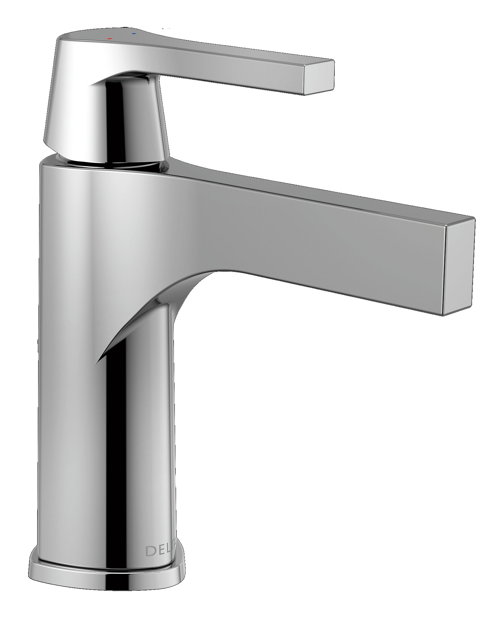 Delta Zura Single hole Bathroom Faucet and Diamond Seal Technology ...