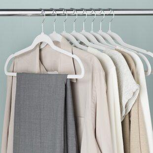 Wayfair Basics Velvet Touch Non Slip Hanger Set Of 50