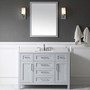 48 vanity mirror single floating bathroom quickview 48 inch vanity mirror wayfair