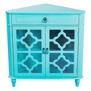 Elegant Moretown 1 Drawer 2 Door Accent Cabinet