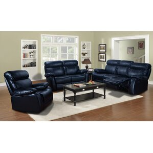 Red Barrel Studio Torbett 3 Piece Living Room Set