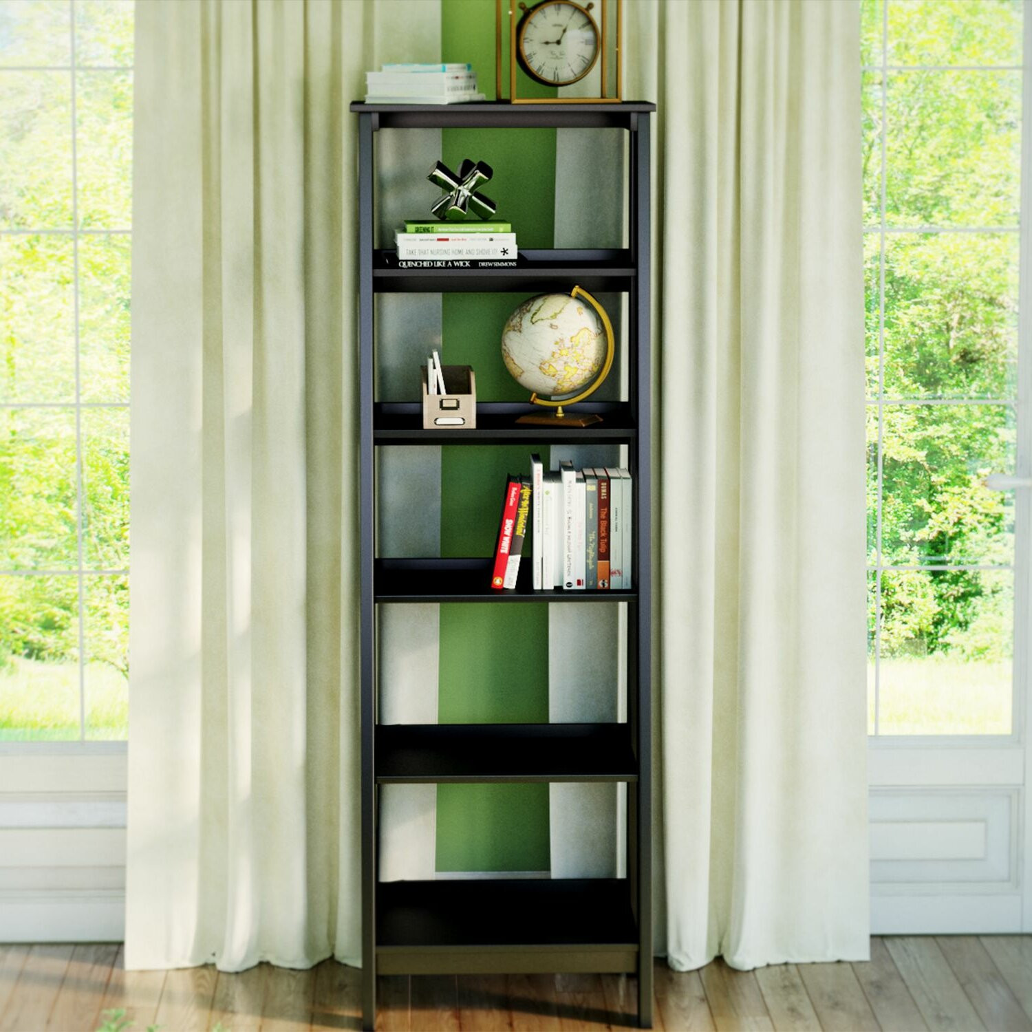 massena wayfair ladder bookcases bookcase inch wide keyword