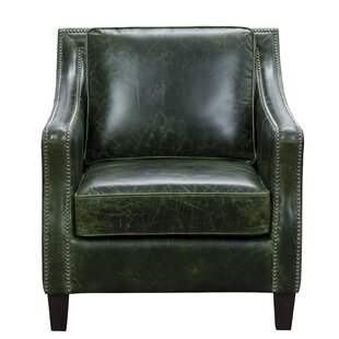 Leather Accent Chairs Metal Legs Caramel.Cognac Leather Accent Chair Wayfair