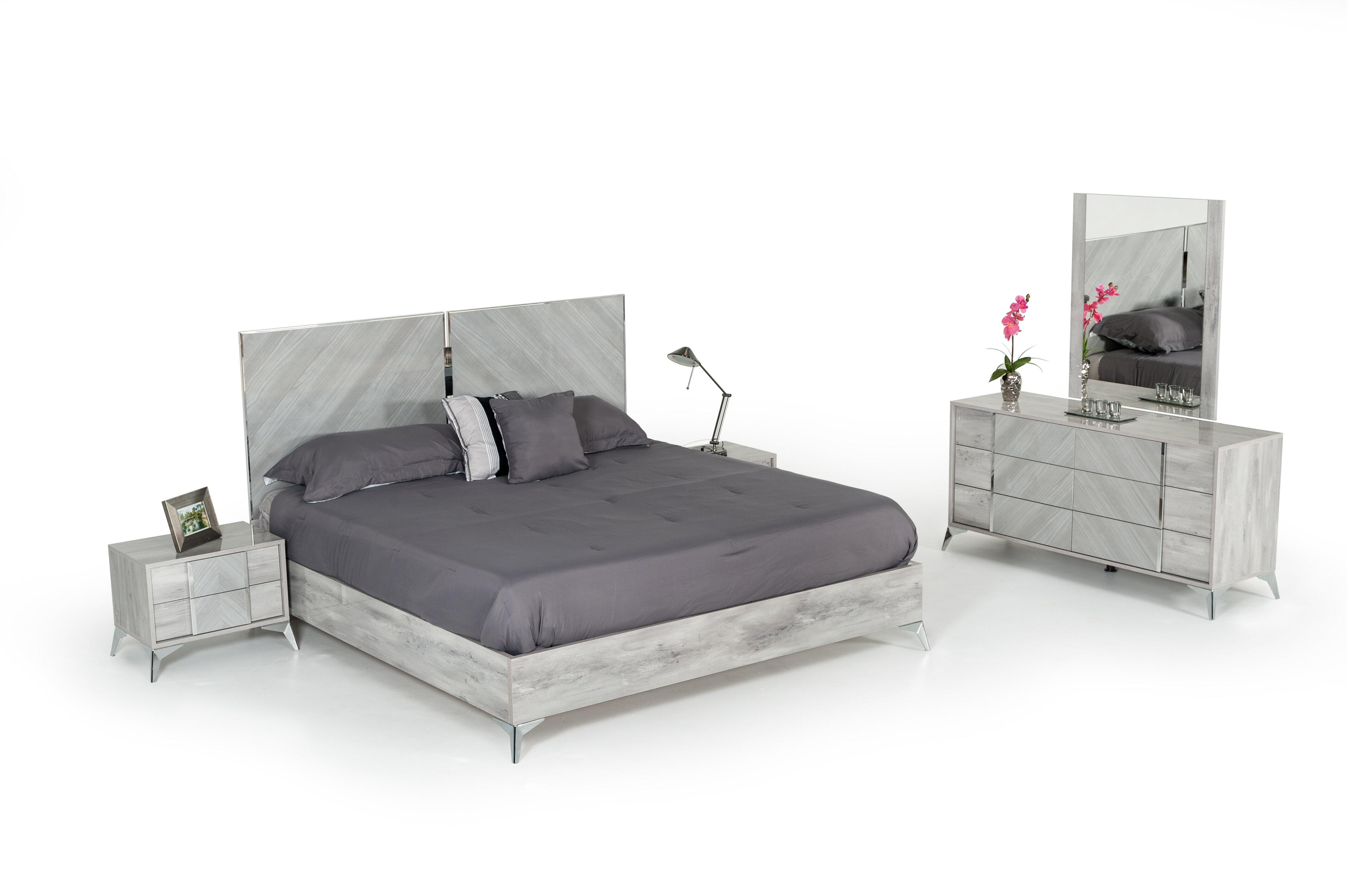 Swell Labombard Modern 5 Piece Platform Bedroom Set Download Free Architecture Designs Intelgarnamadebymaigaardcom