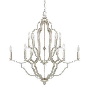 Erroll 10-Light Candle-Style Chandelier
