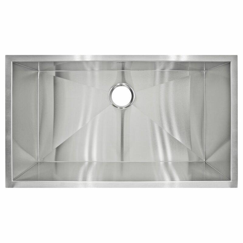 32 x 19 Undermount Single Basin Kitchen