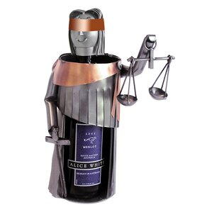 Lady Justice 1 Bottle Tabletop Wine Rack ..