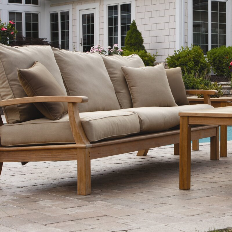 Three Birds Casual Monterey Deep Seating Sofa with ...