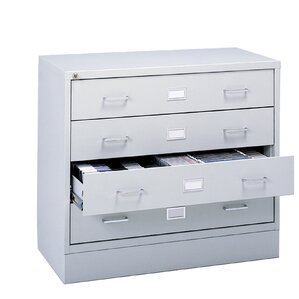 Four-Drawer A/V Microform Storage Cabi..