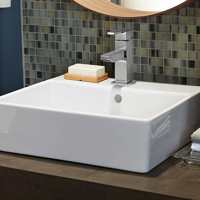 Pleasant Loft Fireclay Rectangular Vessel Bathroom Sink Interior Design Ideas Gentotryabchikinfo