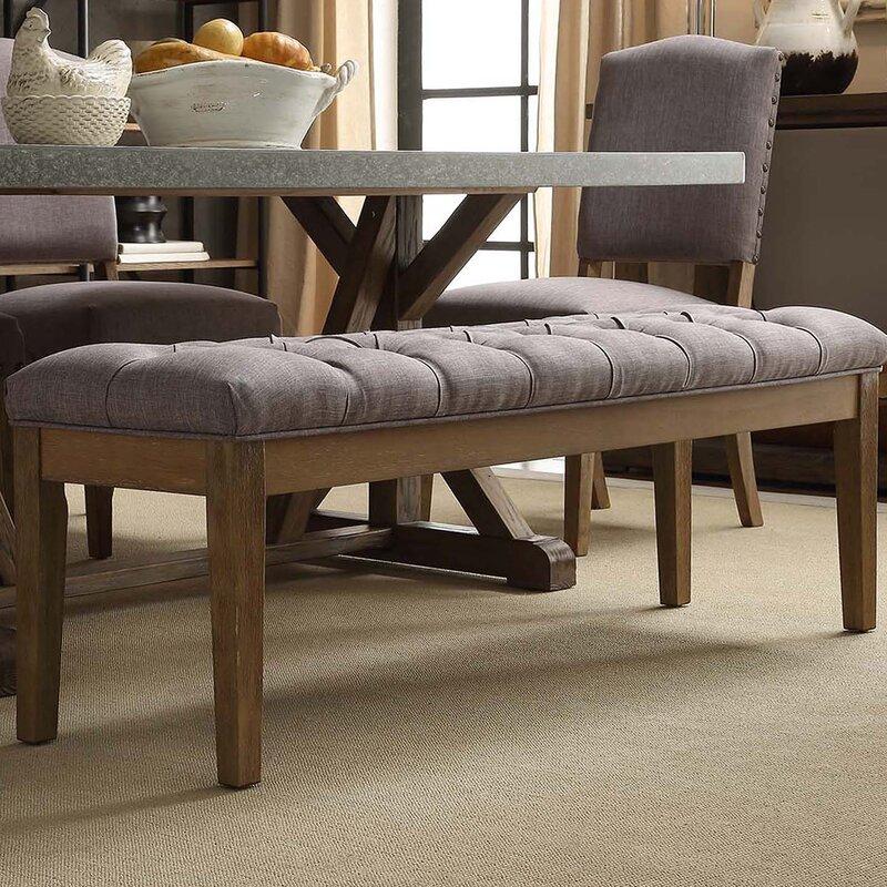Varian Upholstered Storage Bedroom Bench Birchlane: Neumann Upholstered Bench & Reviews